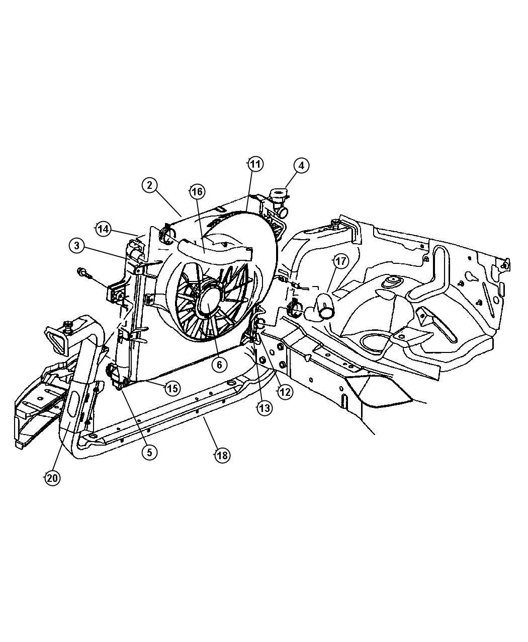 Jeep Grand Cherokee Tube Oil Cooler Pressure