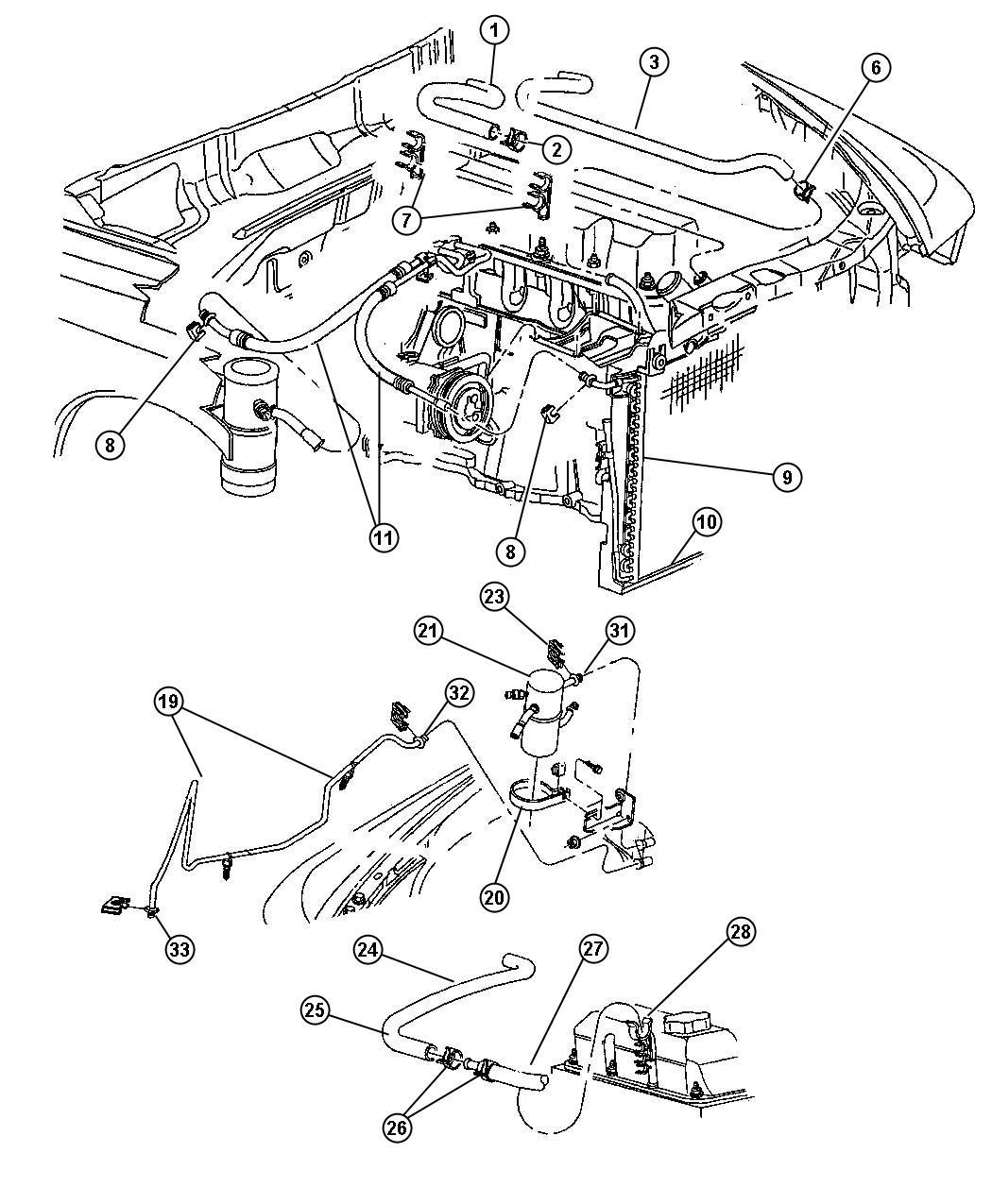 Dodge Dakota Line A C Liquid Air Conditioning