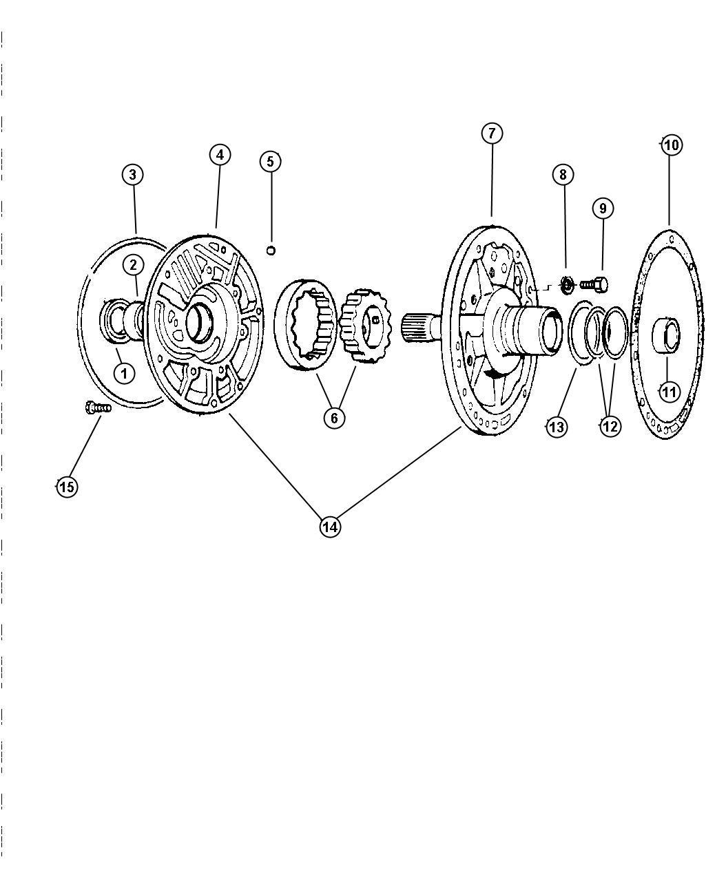Dodge Ram Pump Transmission Oil