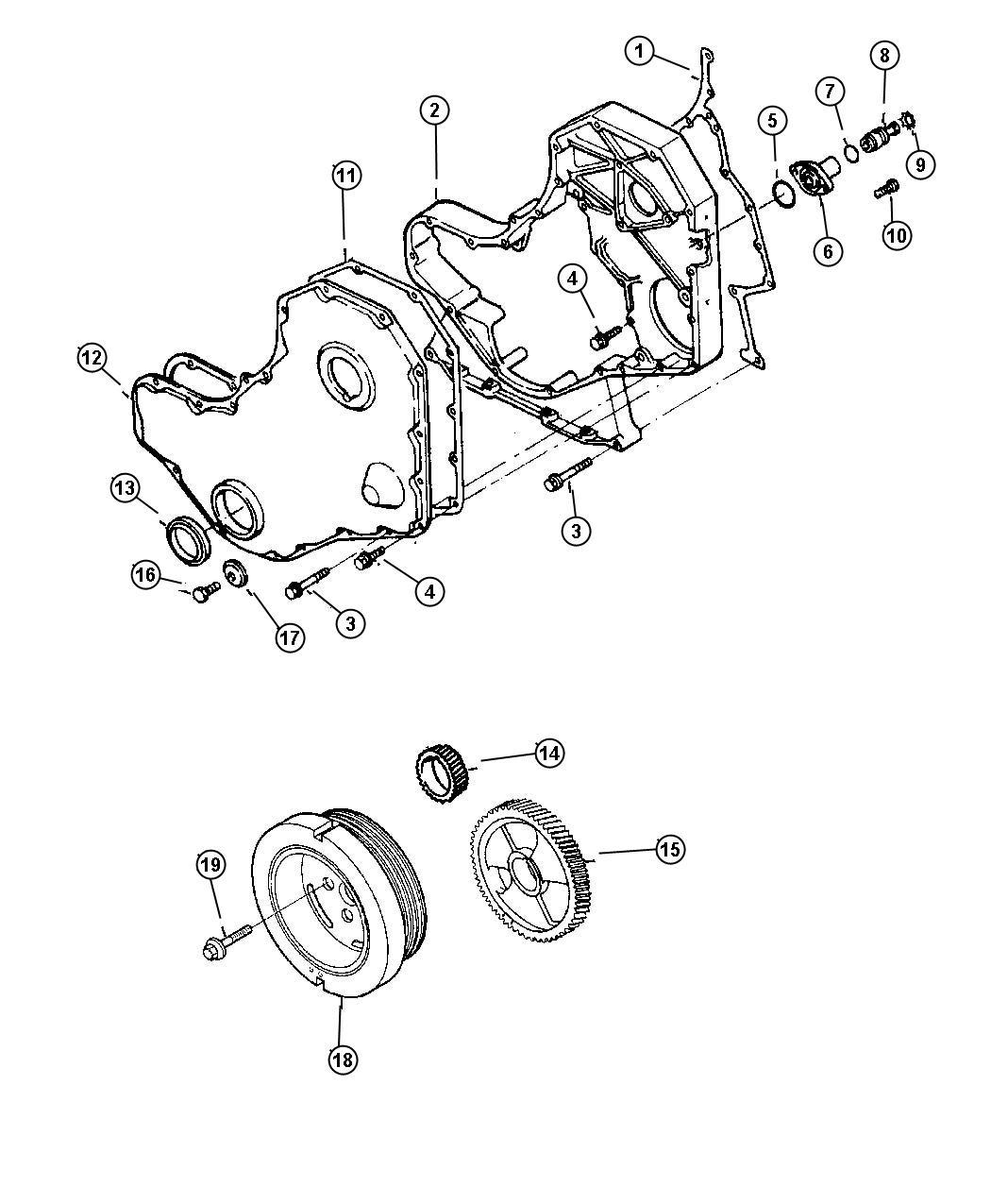 Dodge Ram Cover Timing Belt Emissions Federal