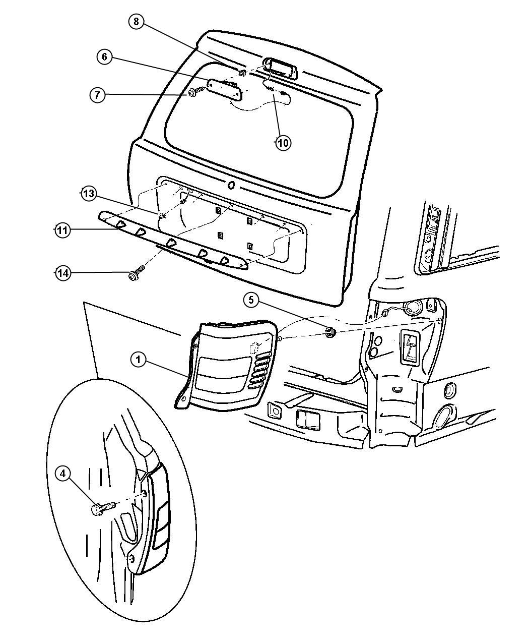 Focus St Tail Lamps | Wiring Diagram Database