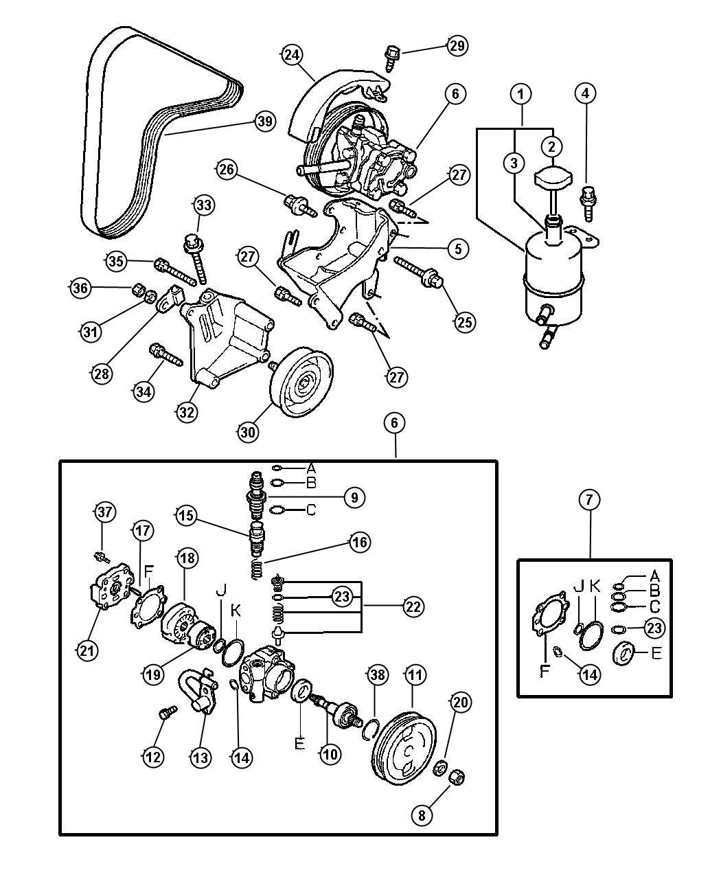 Dodge Avenger Screw Steering