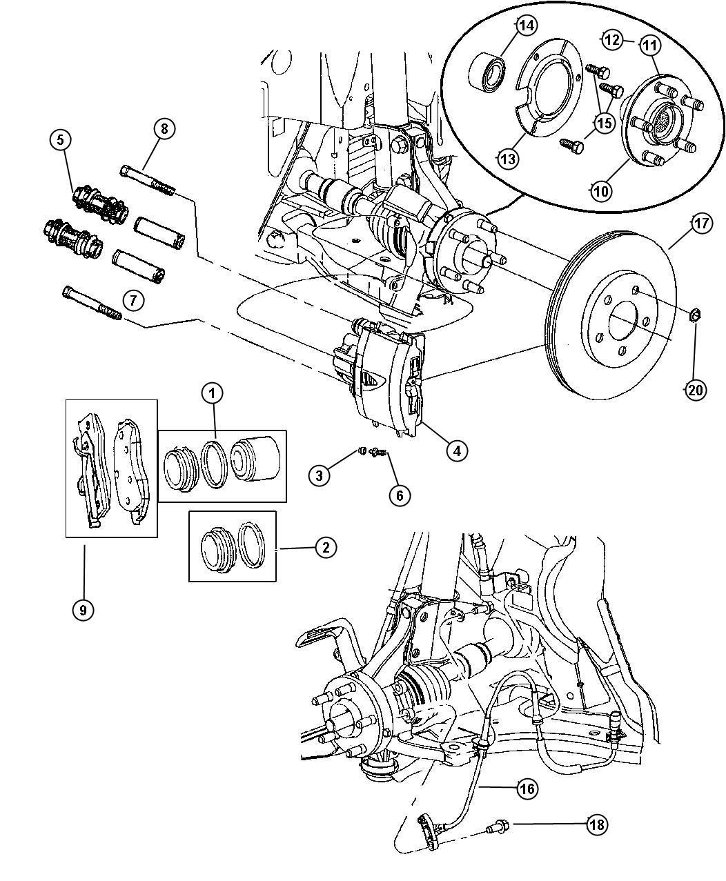 Dodge Neon Bolt Hex Flange Head M8 1 25x68 50 Mounting