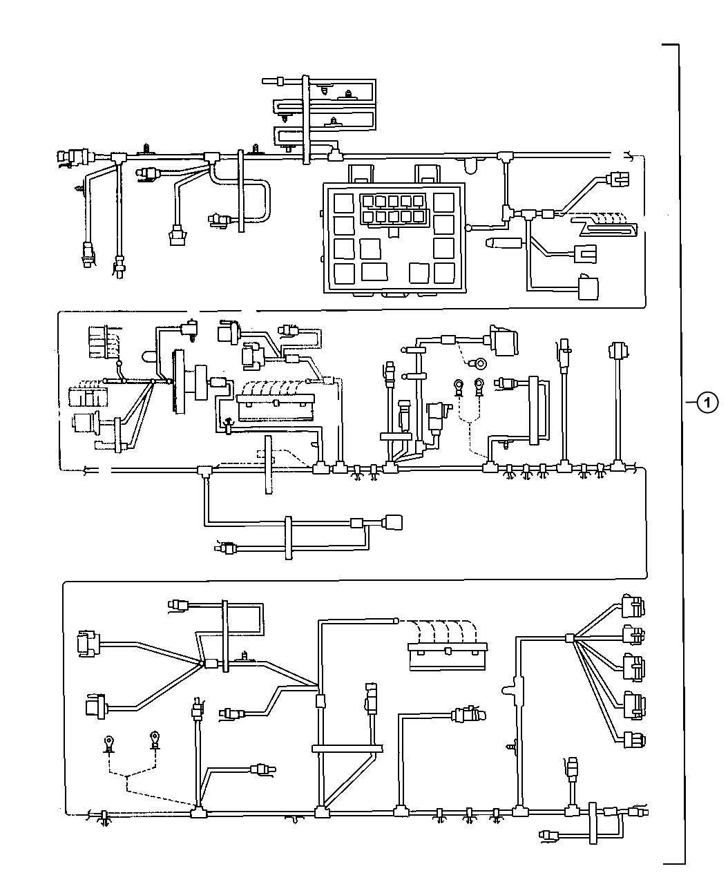 Chrysler Concorde Fuse Fuse Cartridge J Case 40 Amp