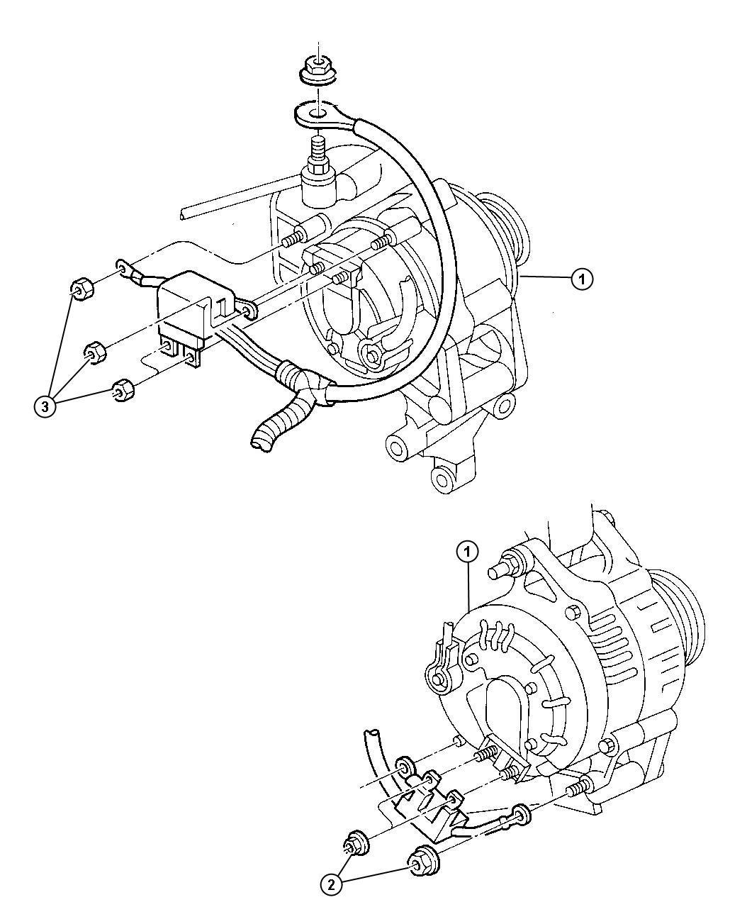Chrysler 200 Alternatr Engine 117 Amp Alternator 117 Amps