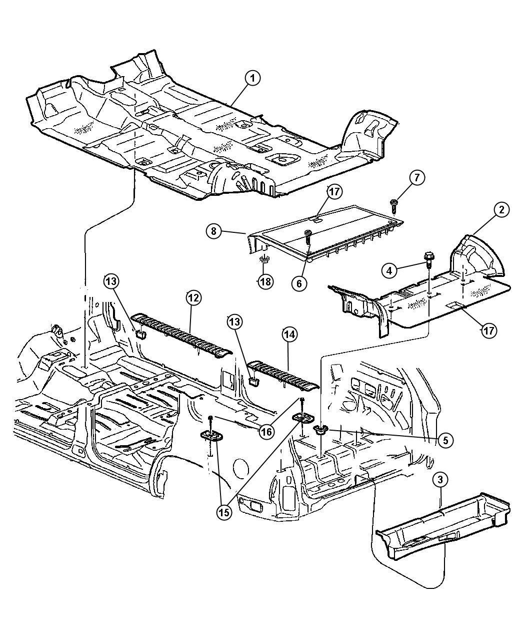 Dodge Ram Nut Plastic Snap In Push In M10 25x30 25