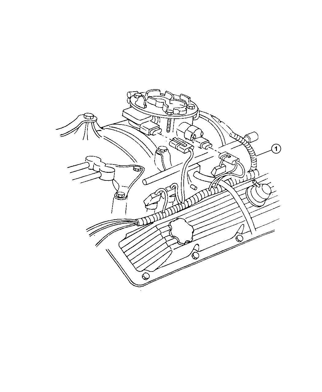 Dodge Caravan Sensor Air Temperature Temperature Sending Unit Torque Converter Temp