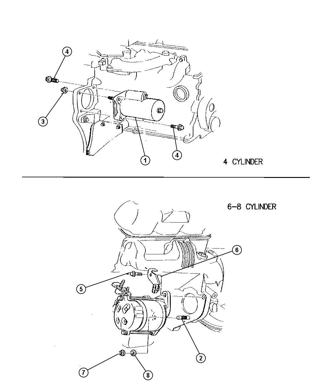 Dodge Intrepid Starter Engine Remanufactured