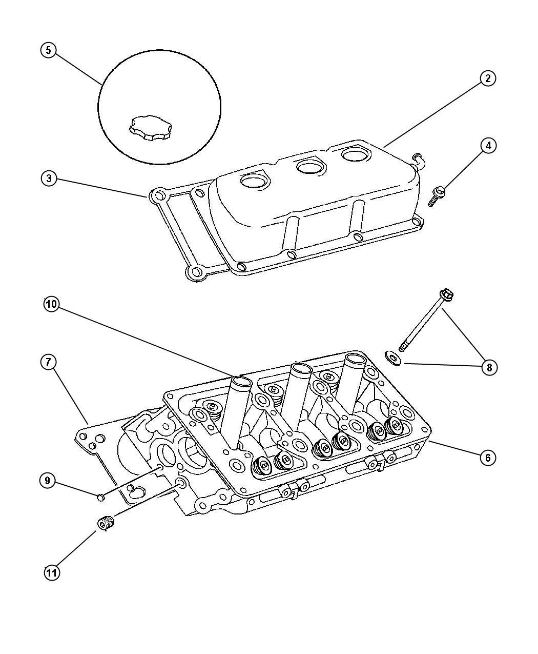 Chrysler Lhs Seal Spark Plug Tube