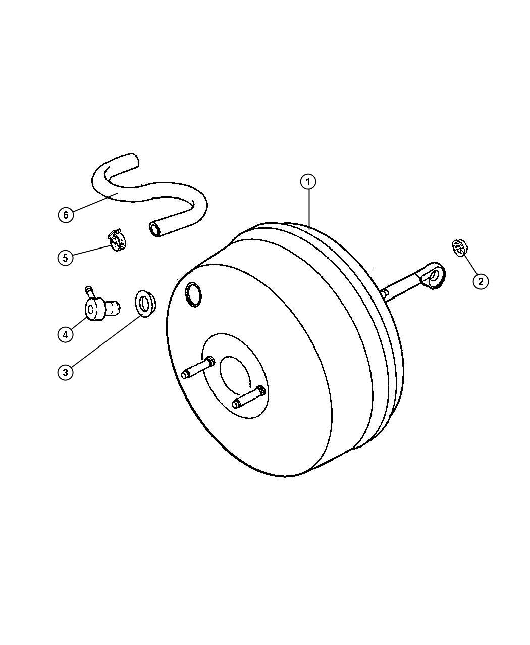 Jeep Wrangler Booster Power Brake Maintenance