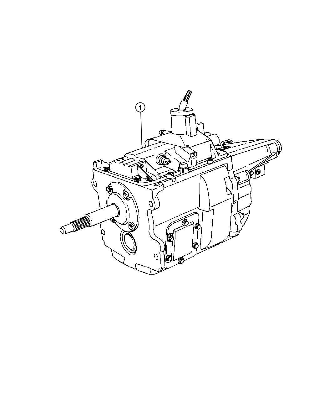 Dodge Grand Caravan Manual Transmission Schematic