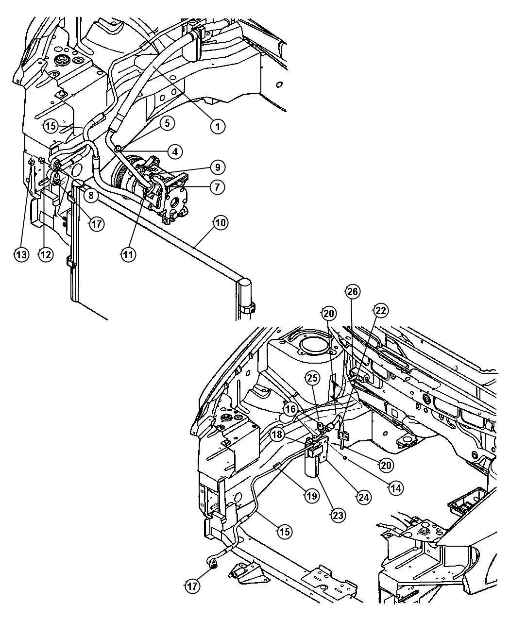 Dodge Grand Caravan Condenser Air Conditioning