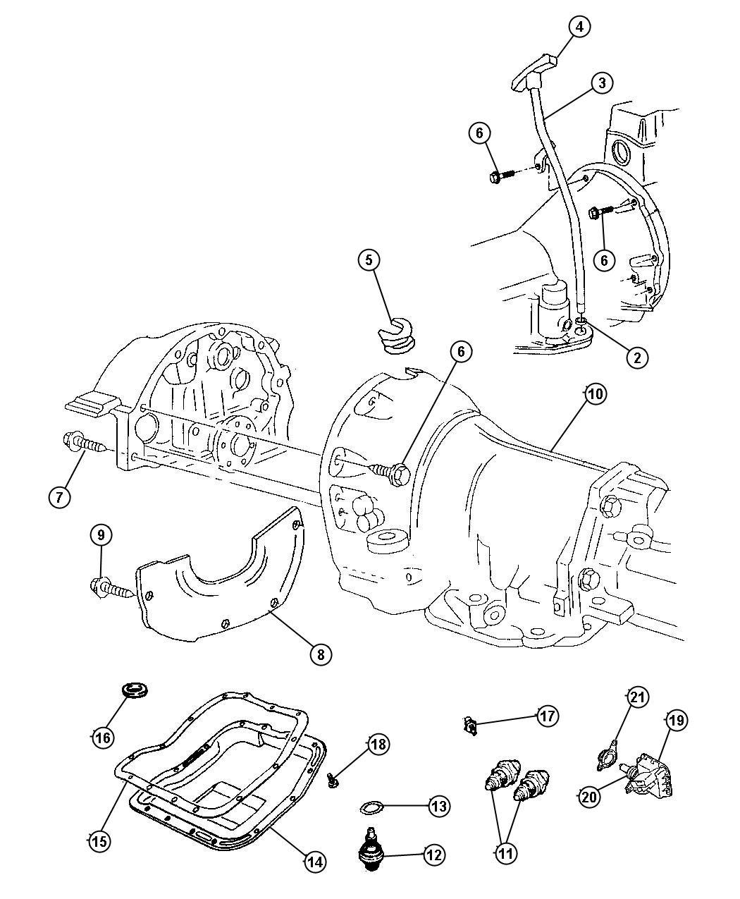 1999    Dodge    46re    Transmission    Wiring    Diagram      Wiring