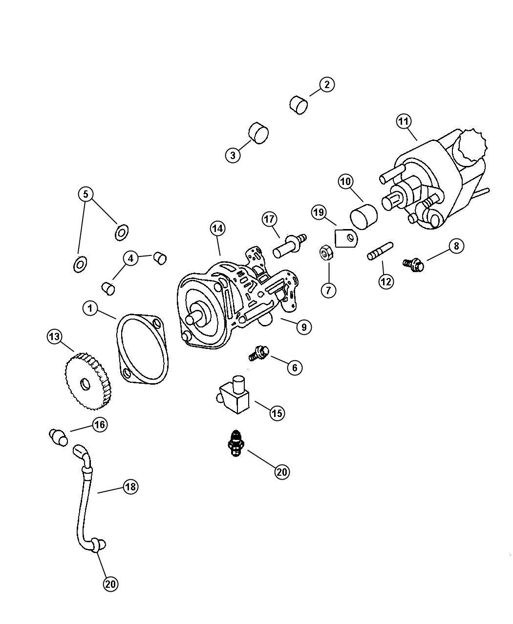 Dodge Ram Pump Vacuum Etb Emissionssel