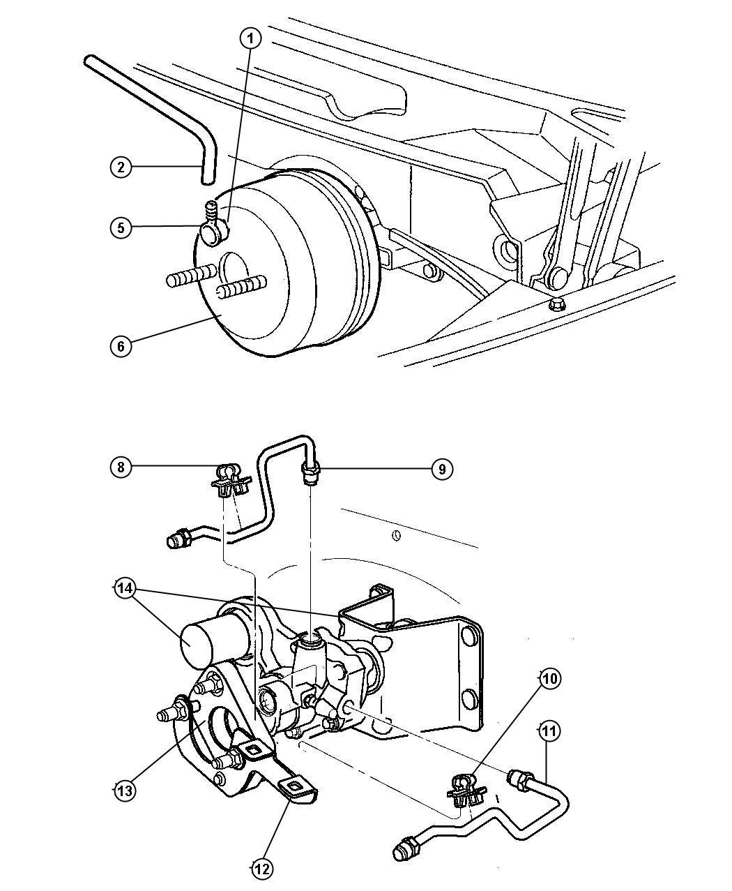 Dodge Ram Hydro Booster Power Brake Engines