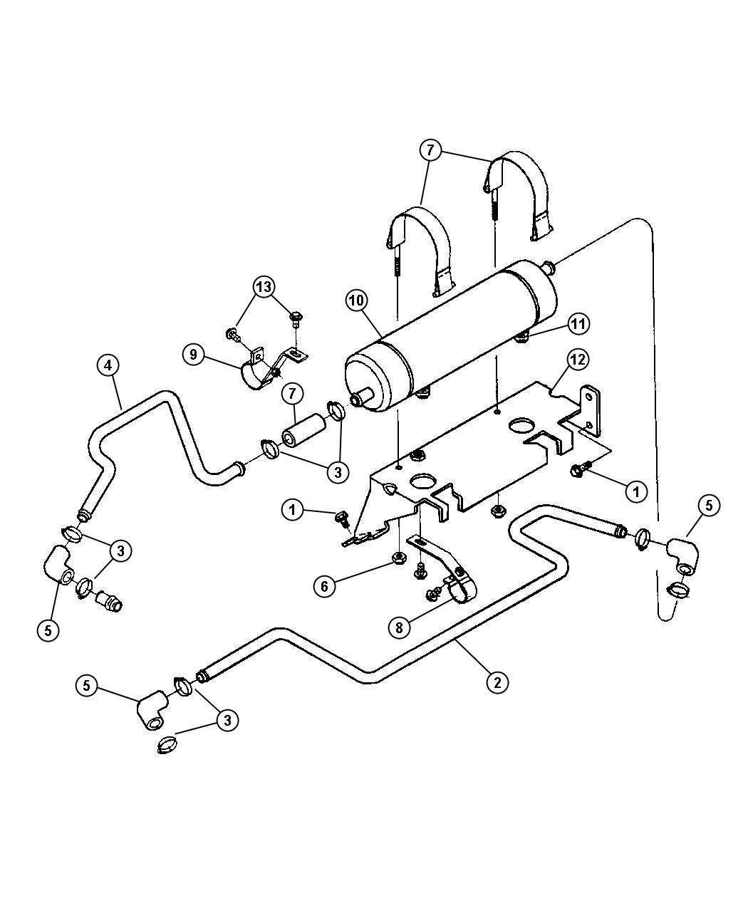 Dodge Ram Connector Oil Cooler Emissions