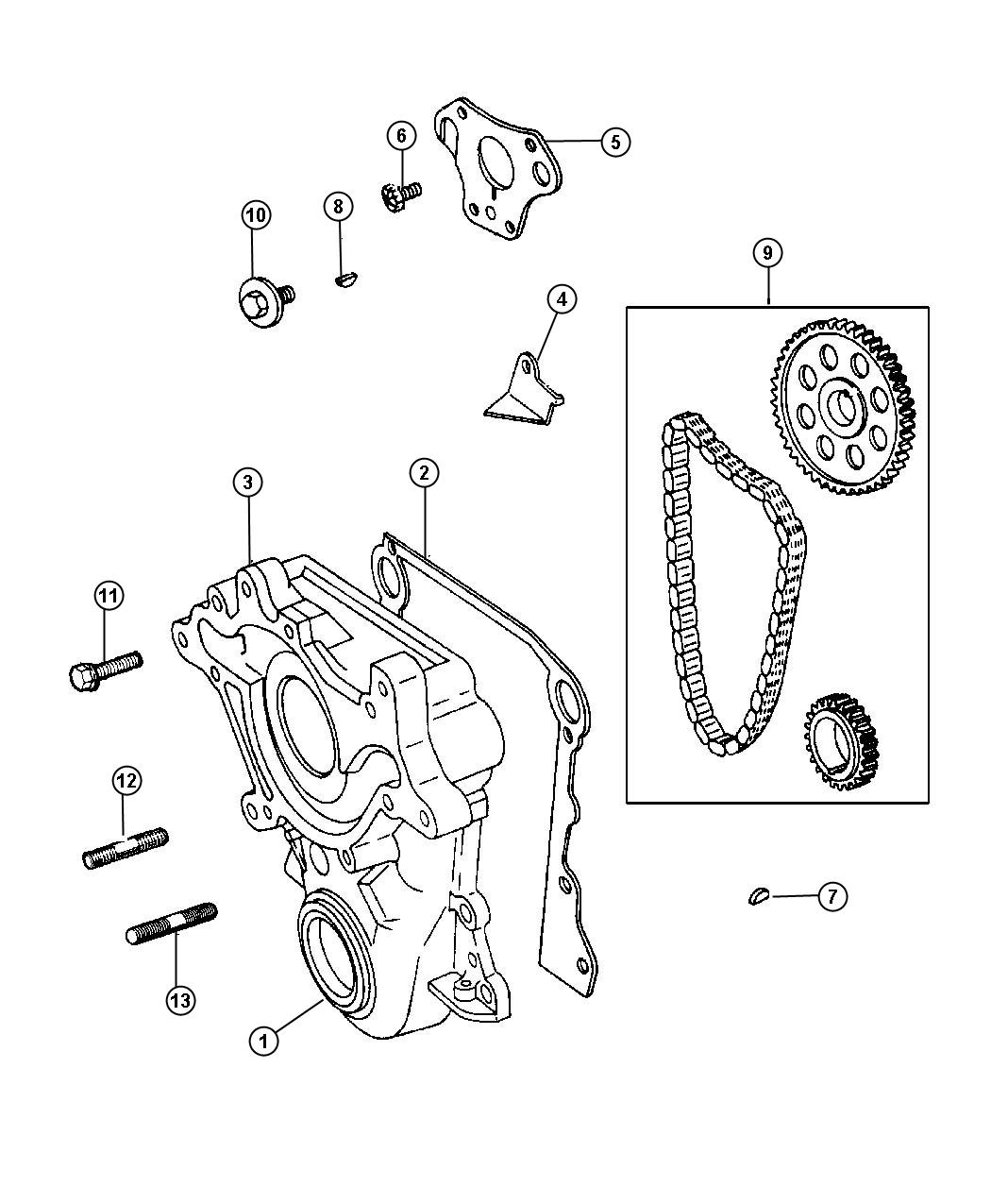 Dodge Ram Tensioner Chain Separate Tensioners