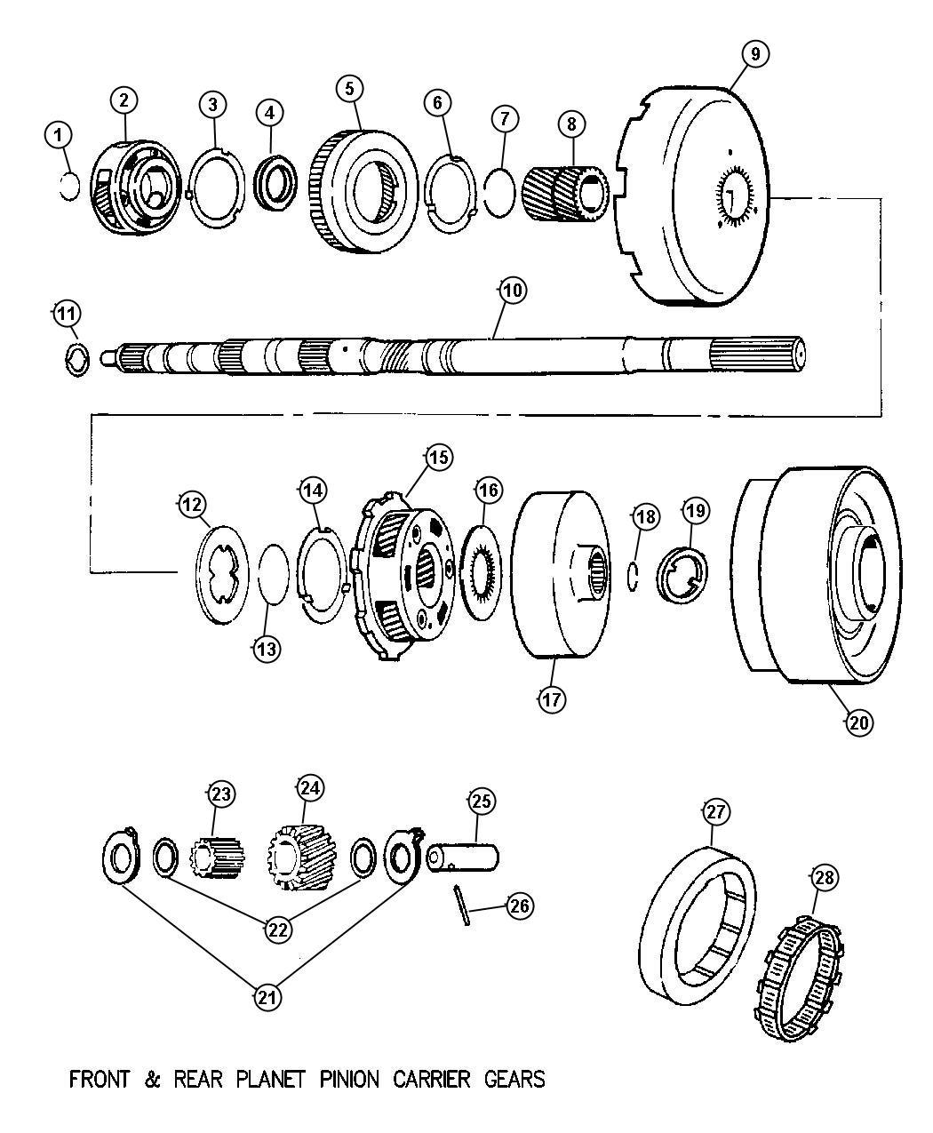 Dodge Ram Drum Automatic Transmission