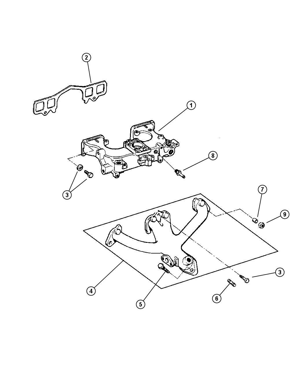 Dodge Ram Manifold Exhaust