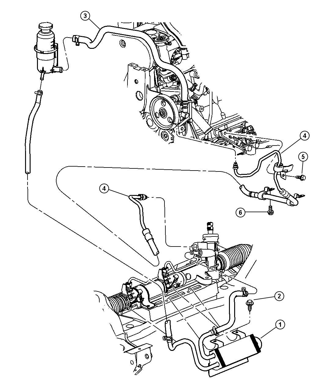 Chrysler Town Amp Country Cooler Power Steering Note