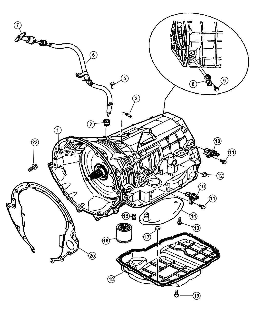 Dodge Viper Indicator Transmission Fluid Level