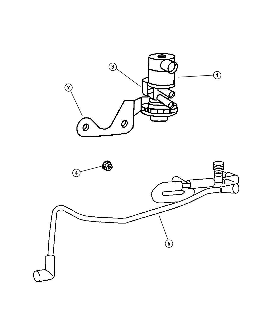 Jeep Grand Cherokee Solenoid Duty Cycle Purge Emission