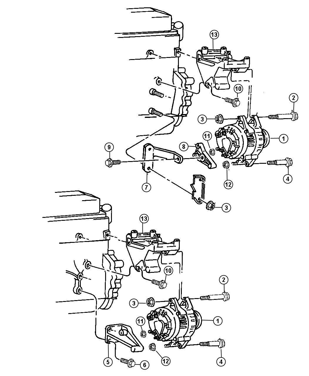 Jeep Wrangler Generator Engine Remanufactured 117 Amp