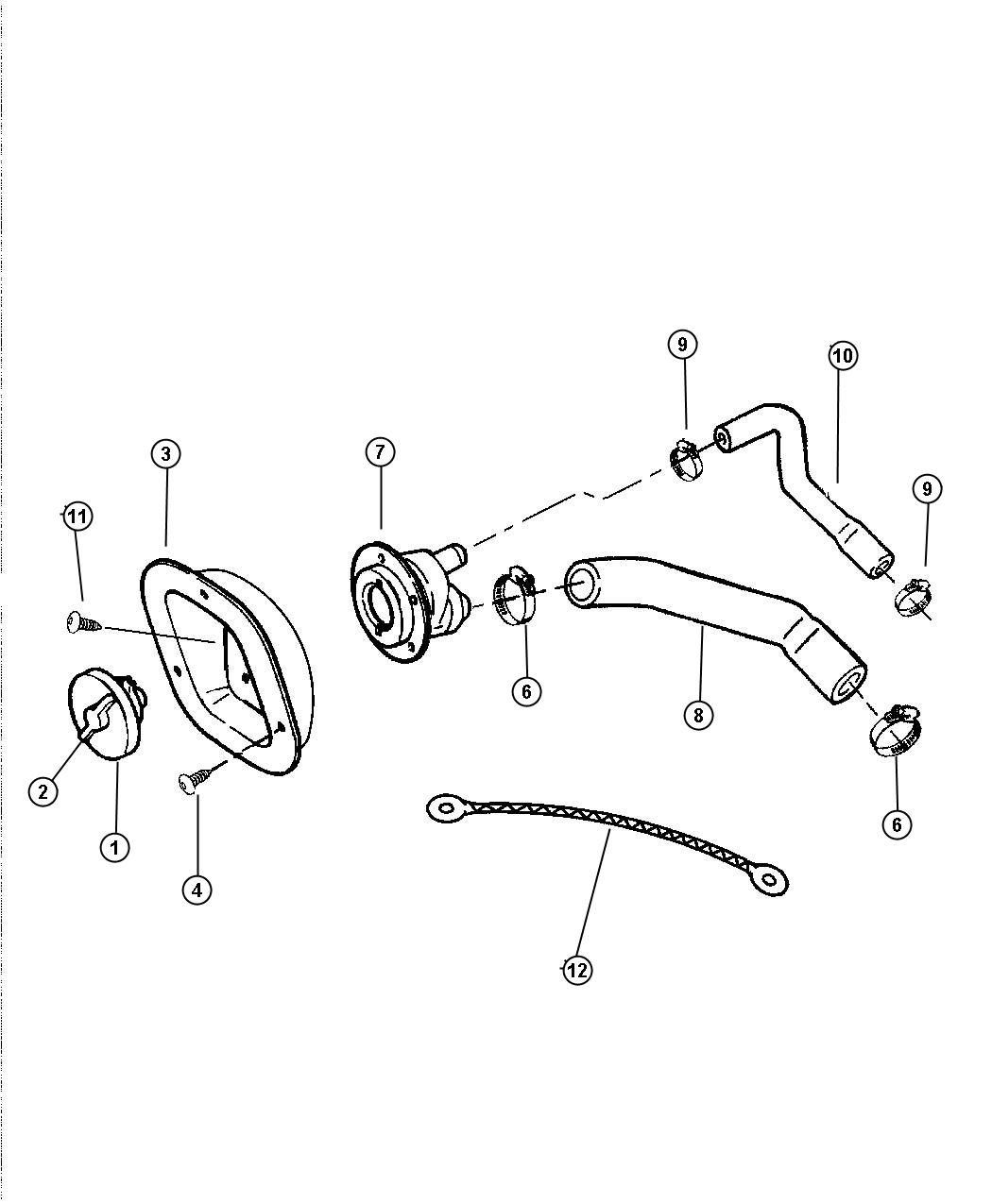Dodge Grand Caravan Used For Screw And Washer 190