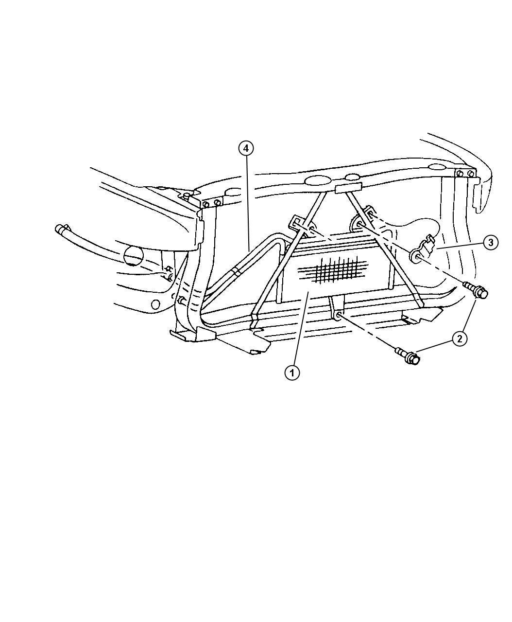 Dodge Ram Cooler Transmission Oil