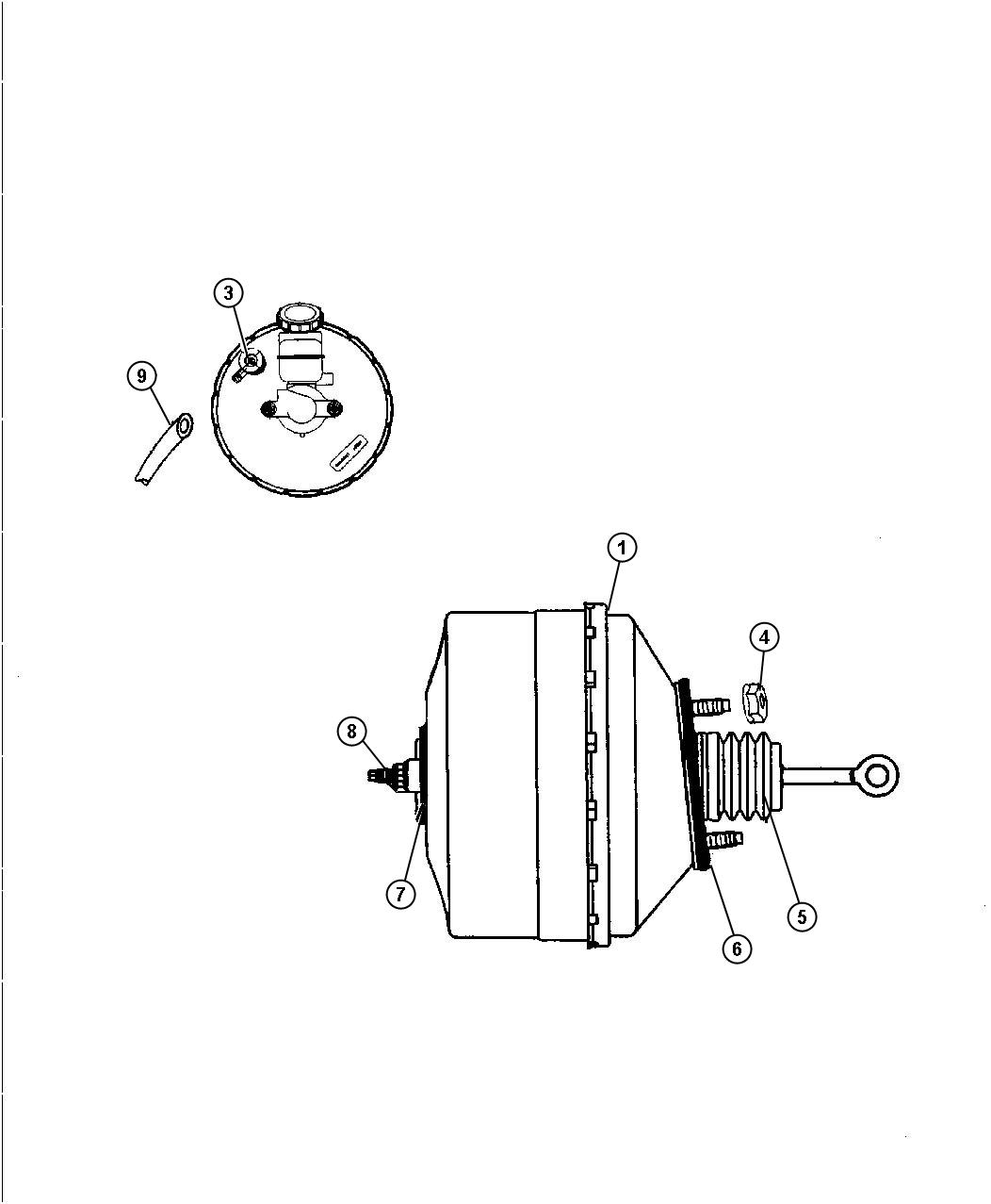 Dodge Viper Check Valve Brake Booster Power Vacuum