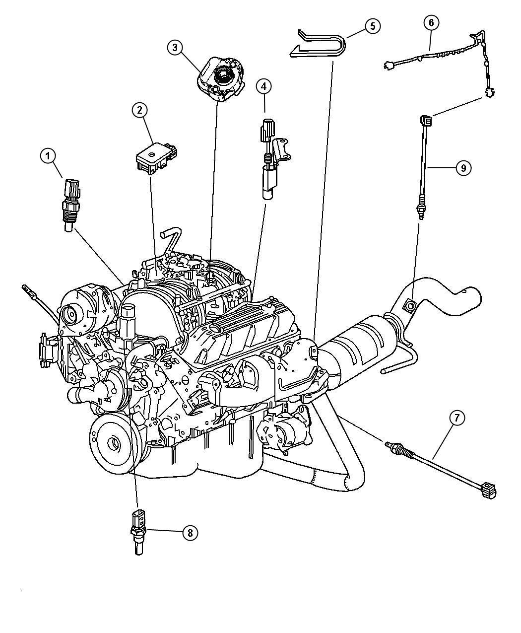 Dodge Dakota Sensor Coolant Temperature Torque