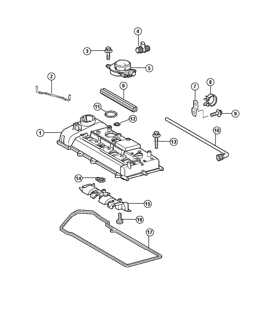 Dodge Sprinter O Ring Large Oil Separator To