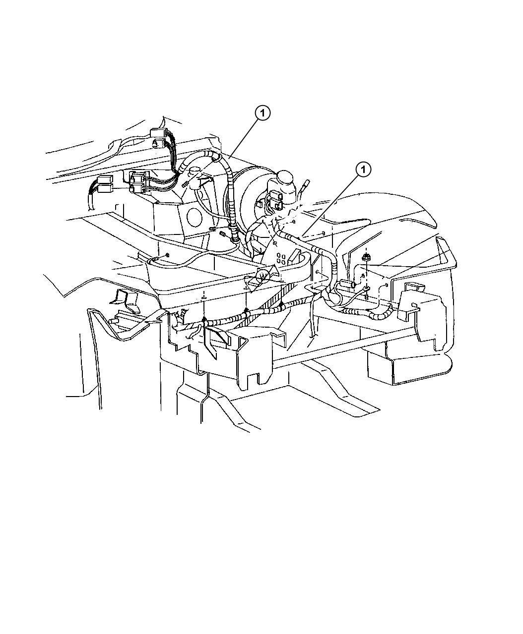 Dodge Viper Bracket Wiring Harness Up To 08 11 03