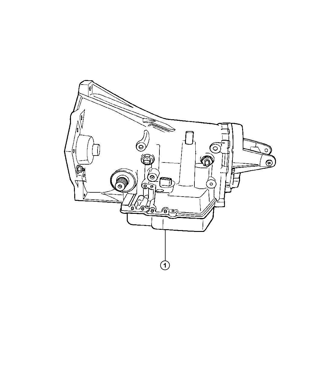 Dodge Durango Trans Kit Transmission Case