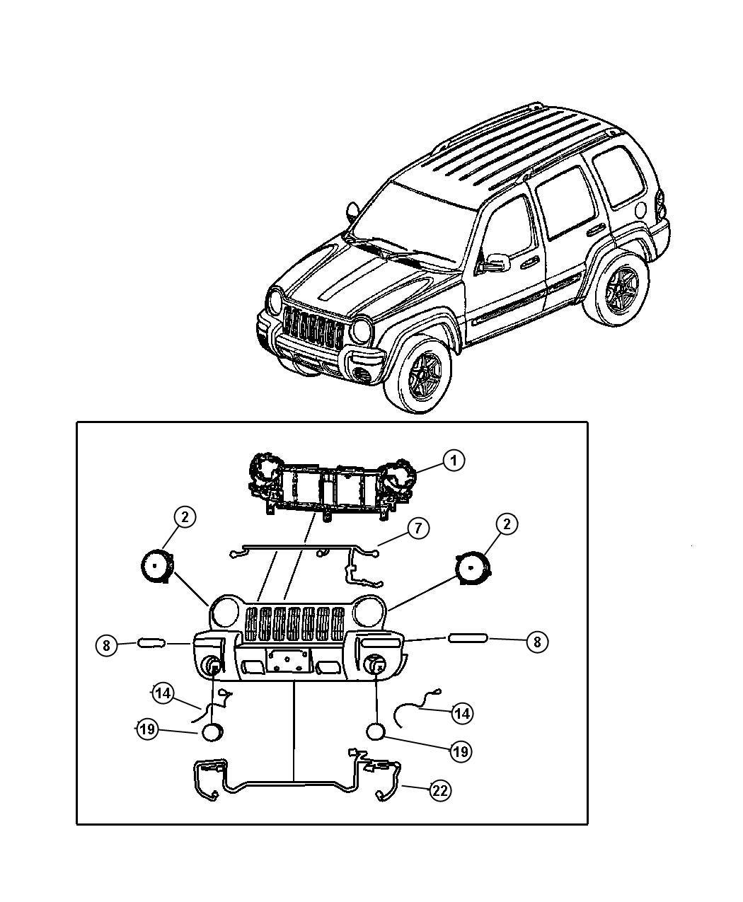 Dodge Grand Caravan Socket Side Marker Headlamp