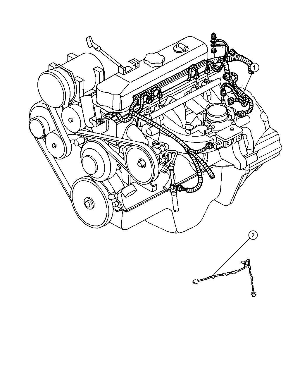 Dodge Durango Wiring Engine Federal And Export U S 50