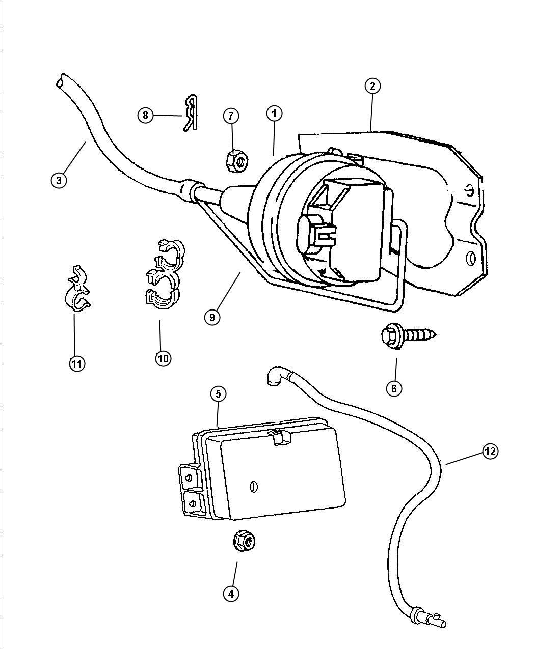 Dodge Ram Cable Speed Control Cable Speed