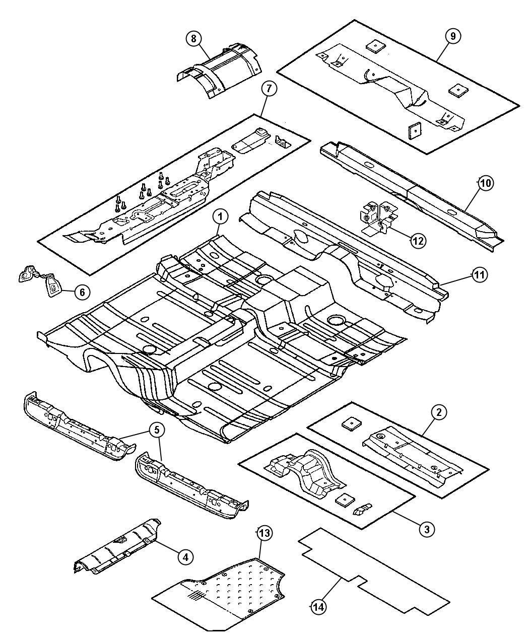 Chrysler Sebring Rivet 197 Grip 187 375 Dash Panel Stud