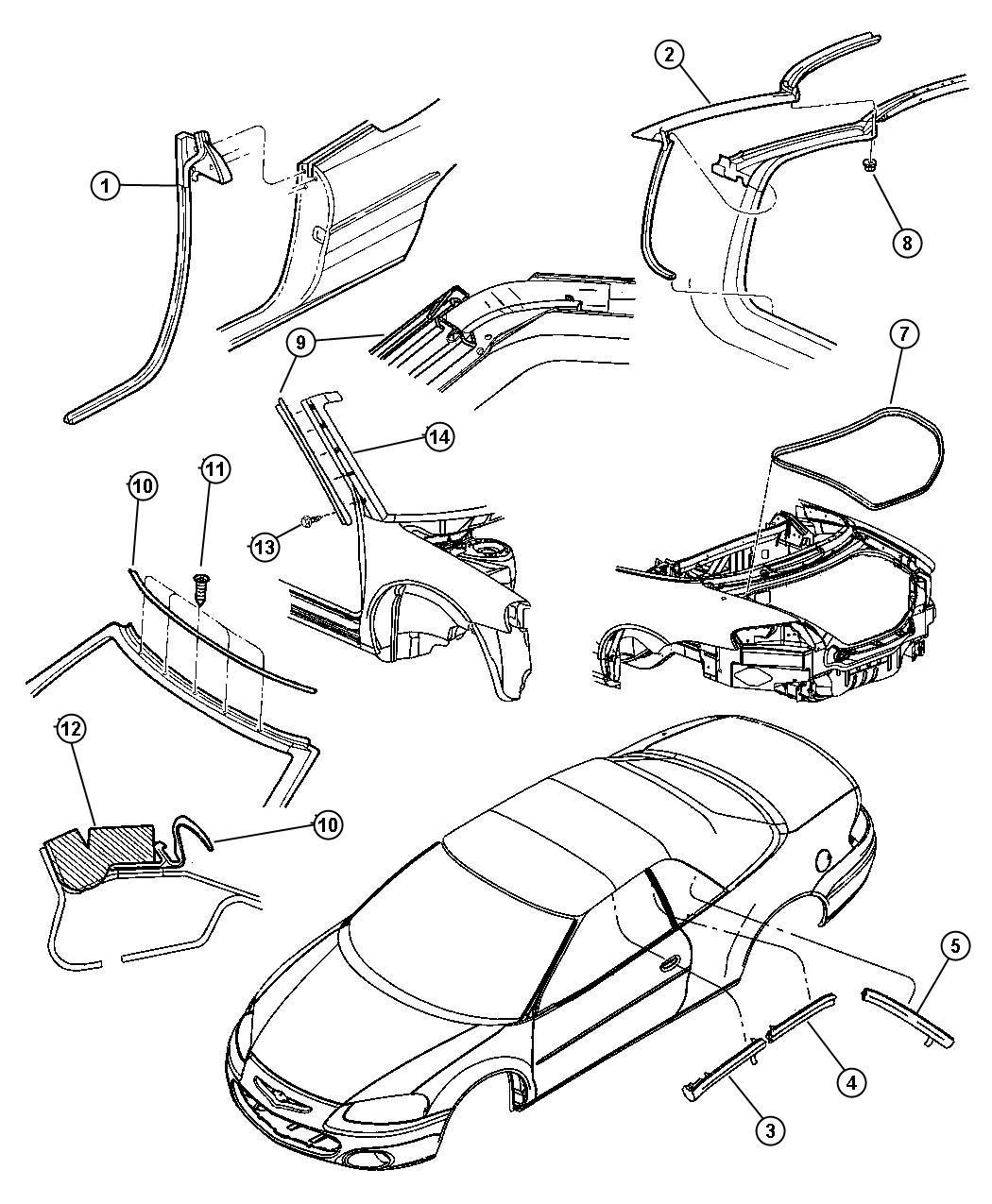 Dodge Ram Screw Tapping 164 18x 625 Rear Body