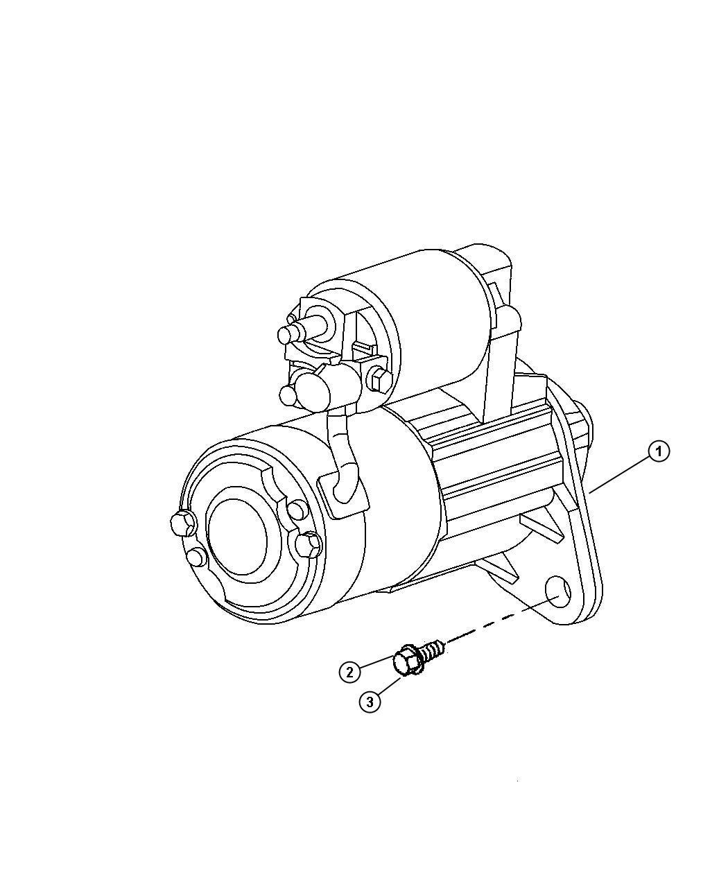 Dodge Grand Caravan Starter Engine Remanufactured