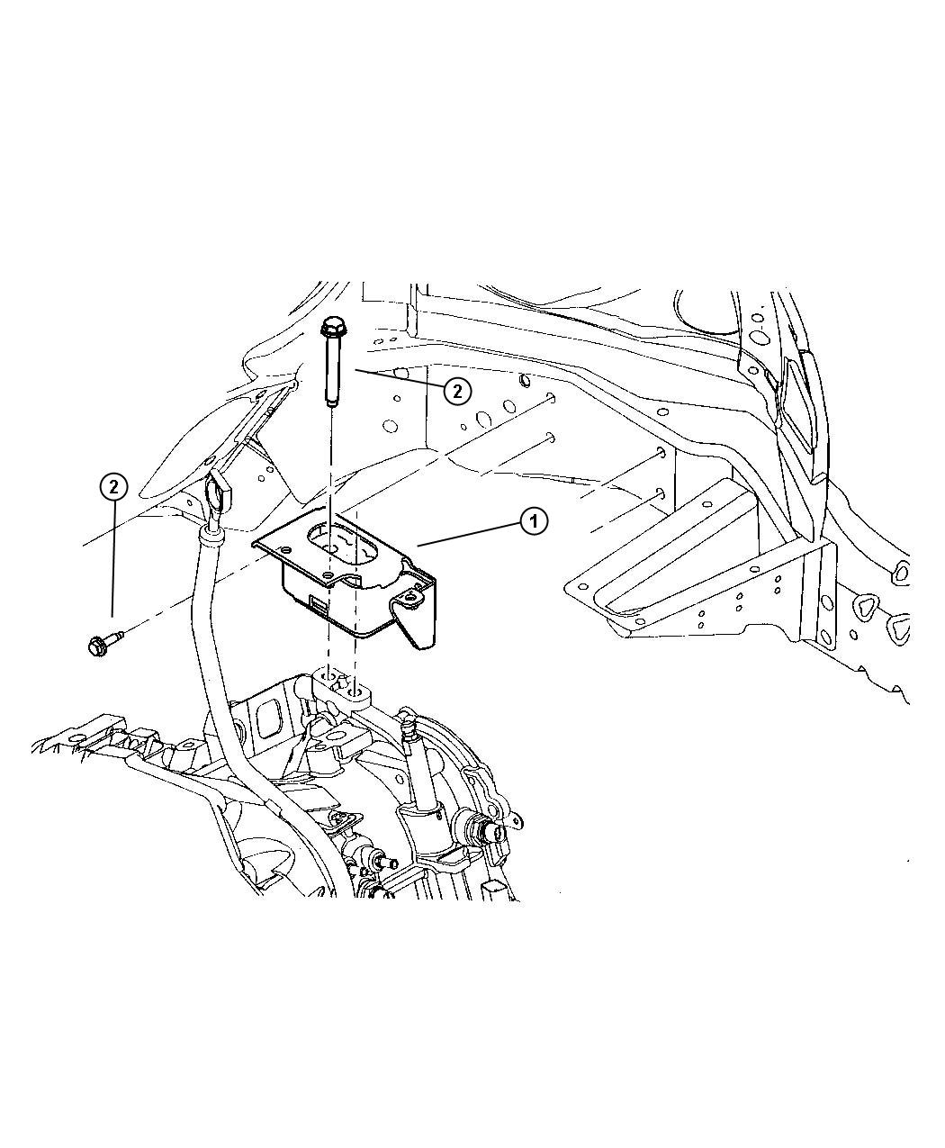 Jeep Liberty Bolt Used For Bolt And Coned Washer