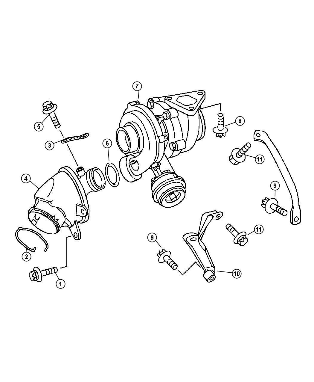 Chrysler Town Amp Country Solenoid Vacuum Swirl