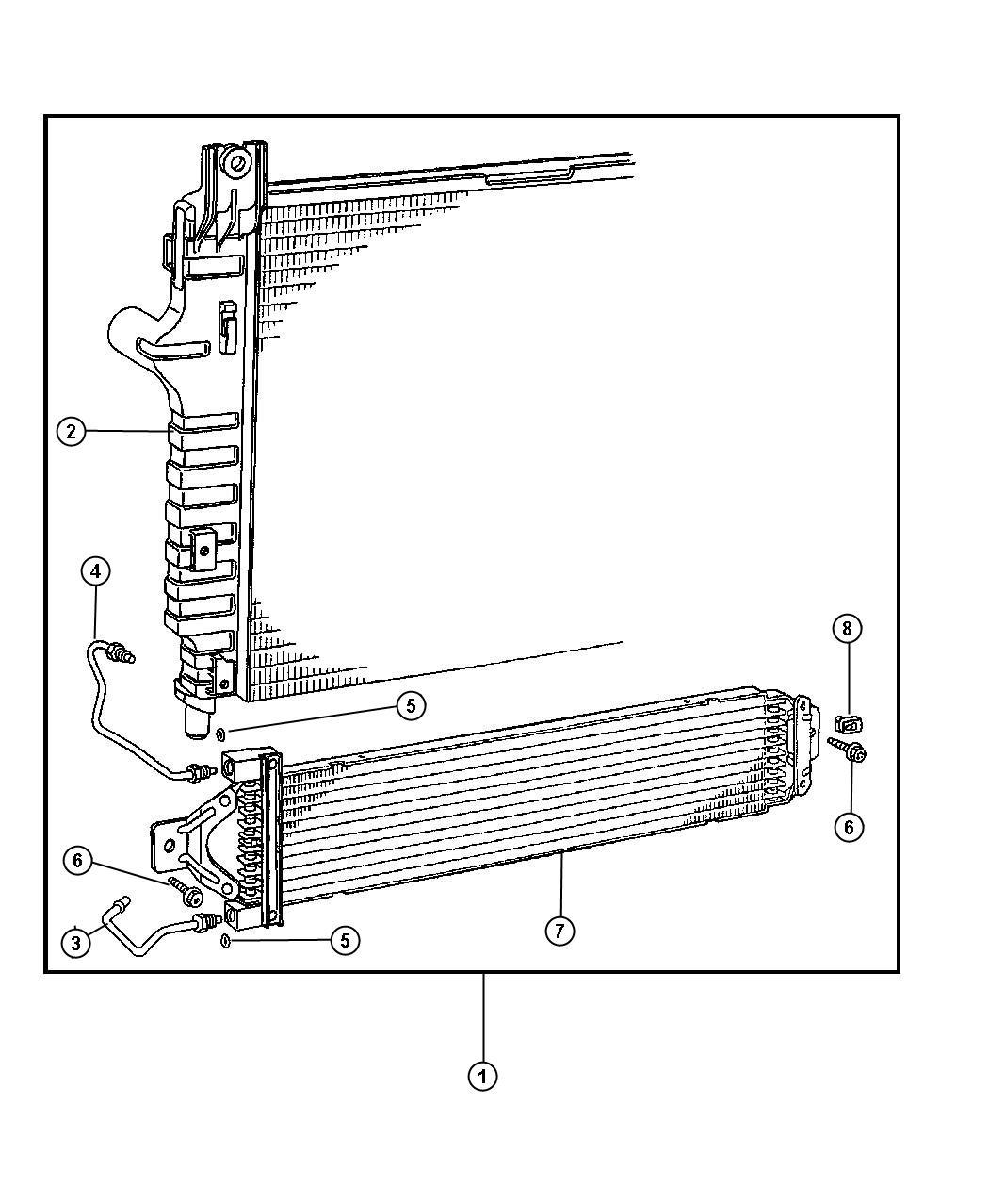 Dodge Durango Radiator Engine Cooling Max