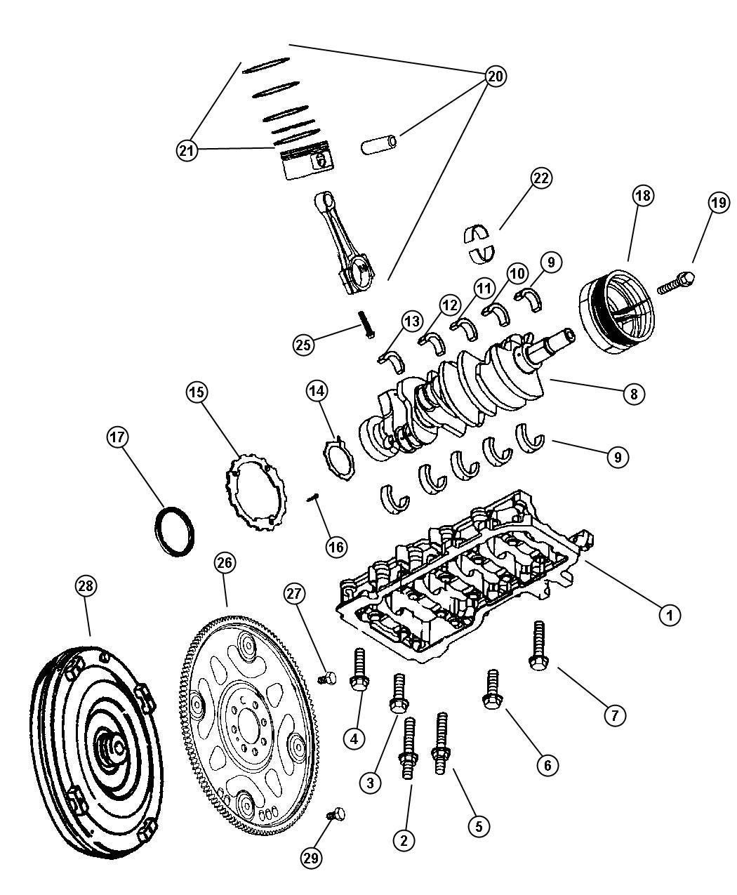 Dodge Challenger Converter Torque Remanufactured