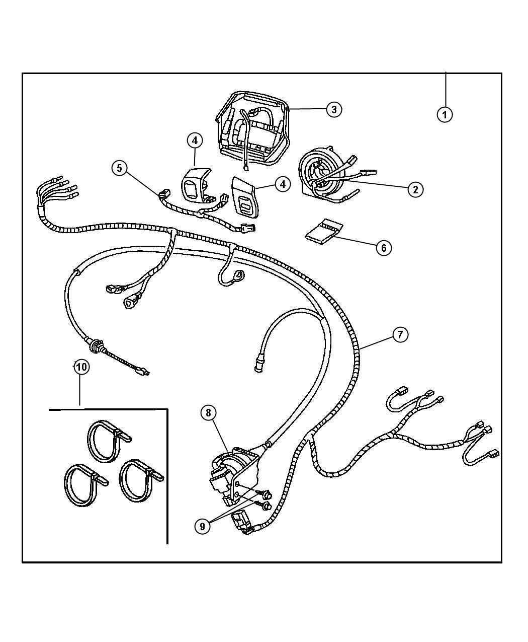 Jeep Wrangler Clockspring
