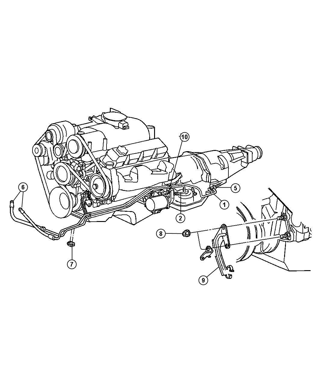 Dodge Dakota Used For Hose And Valve Transmission