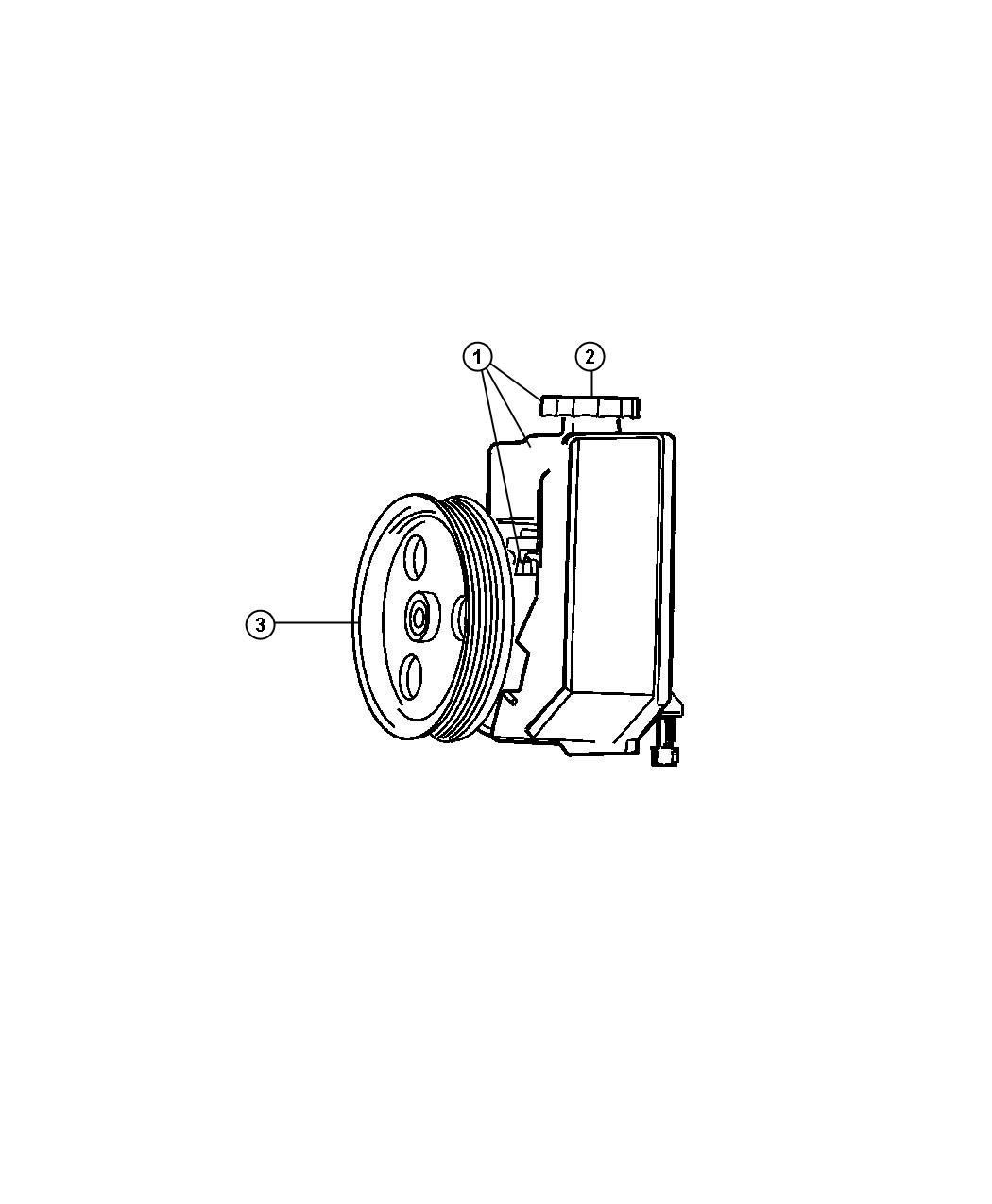 Jeep Grand Cherokee Pulley Power Steering Pump