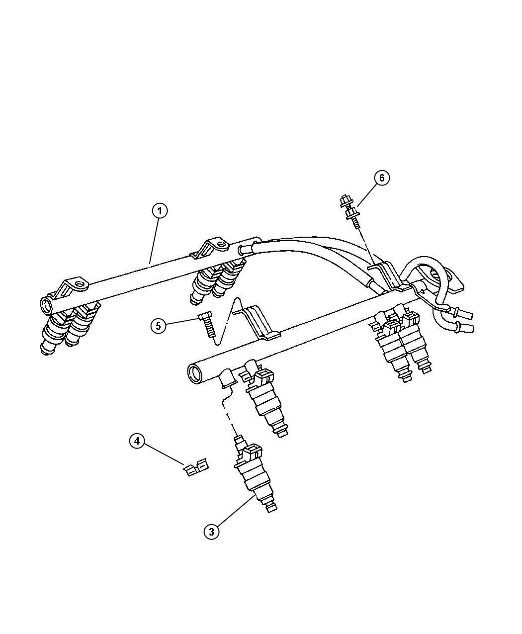 Jeep Regulator Fuel Pressure Axle Engine Rear