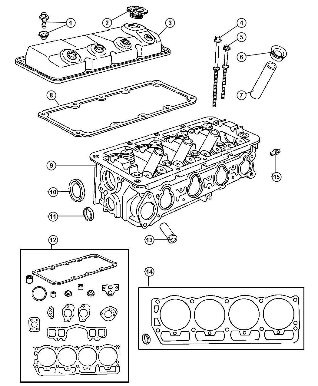 Dodge Charger Cover Cylinder Head