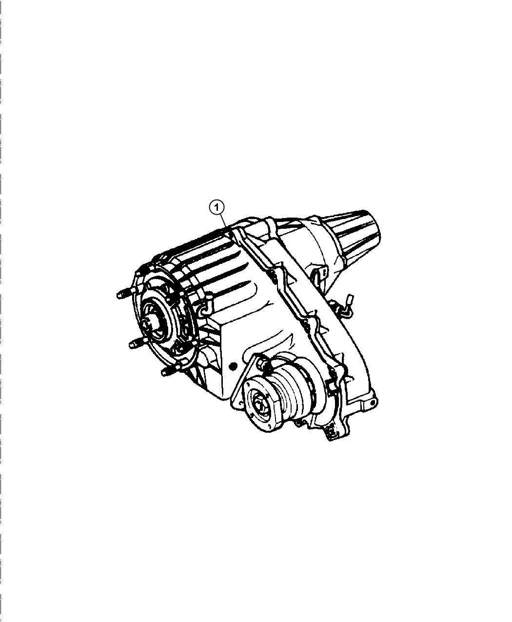 Dodge Ram T Case Nvg273 Transfer Fly Elec